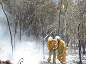 Grateful mayor thanks fireys in bushfire emergency
