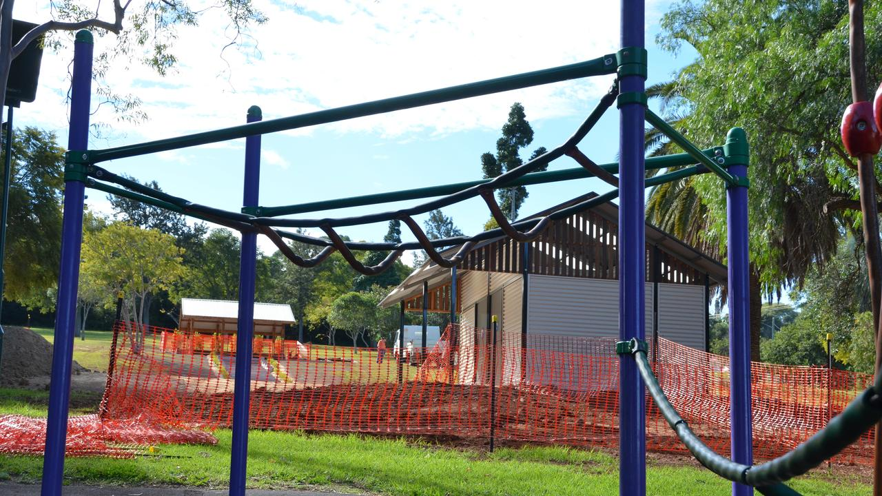 UPGRADES: The council thanked the community for their patience during the earth works construction at Kingaroy's Apex park.