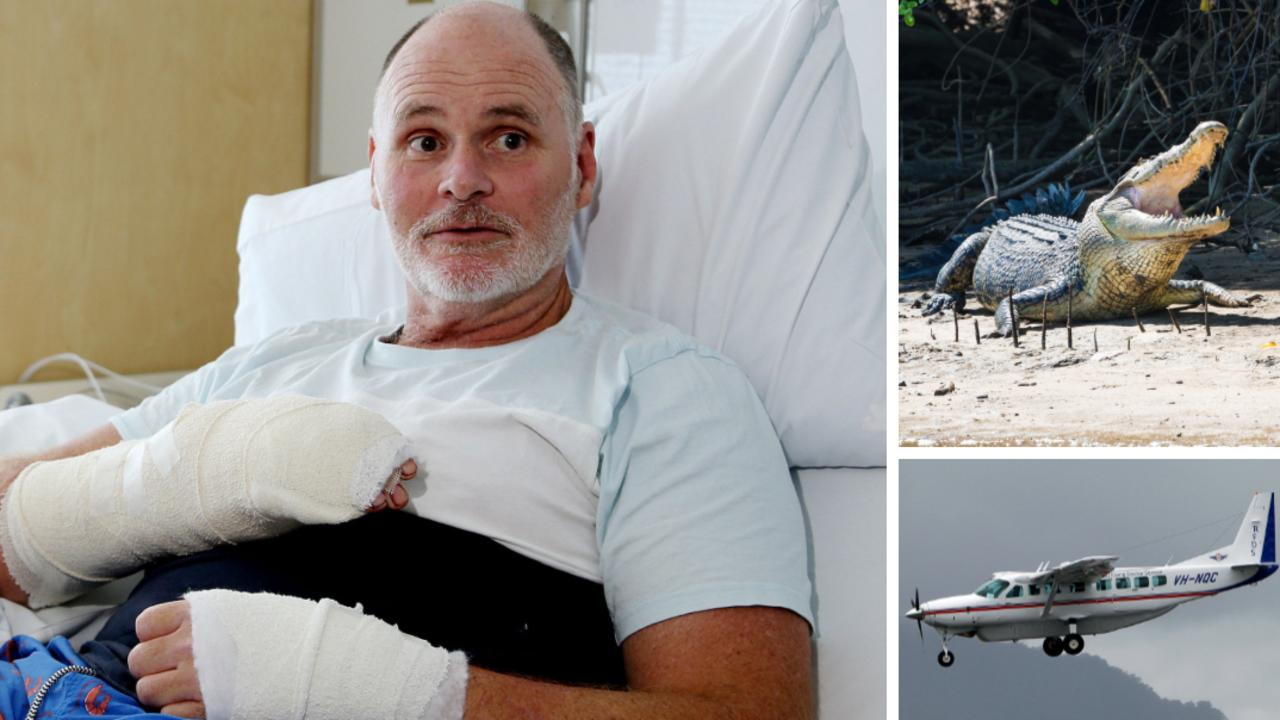 Off-duty ranger Craig Dickmann has told how he escape a croc attack in Cape York.