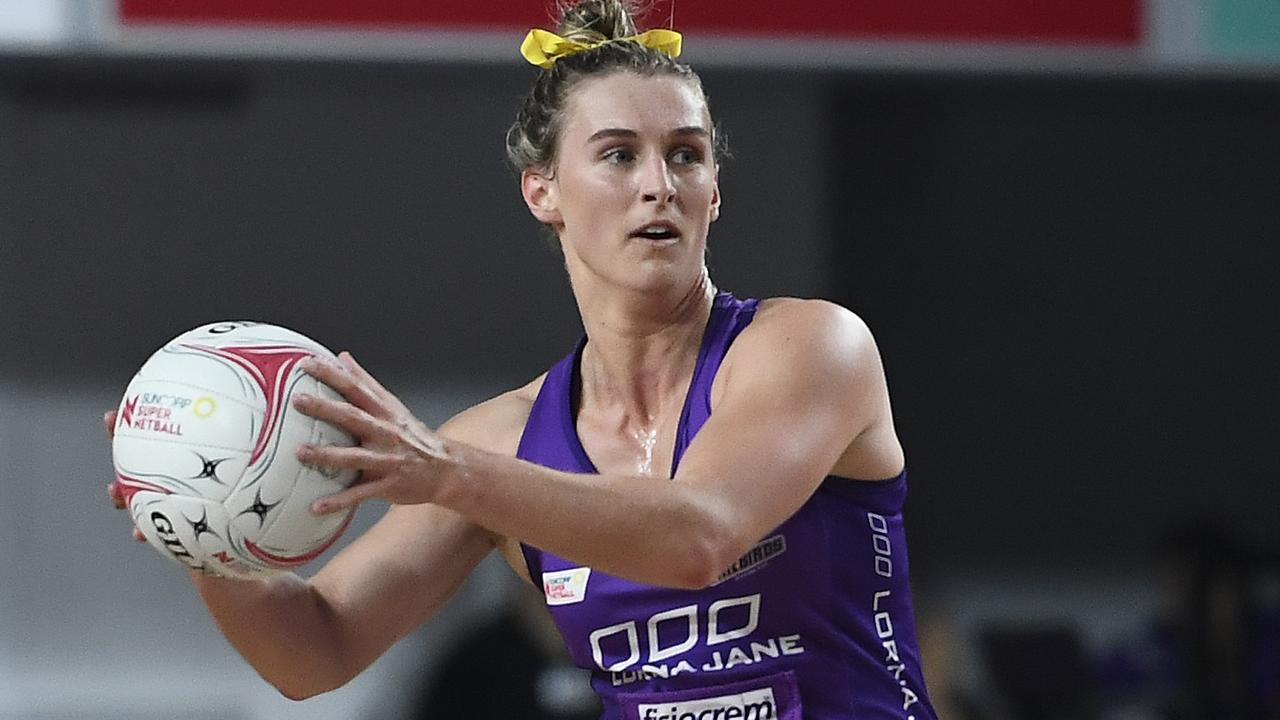 Firebirds captain Gabi Simpson can't wait for the new season to start. Picture: Getty Images