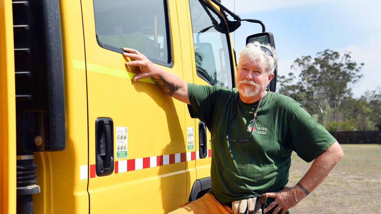 Toogoom rural firefighter Peter Byster wrote this poem after a long shift fighting the Kilkivan bushfire in Black Snake earlier this week.