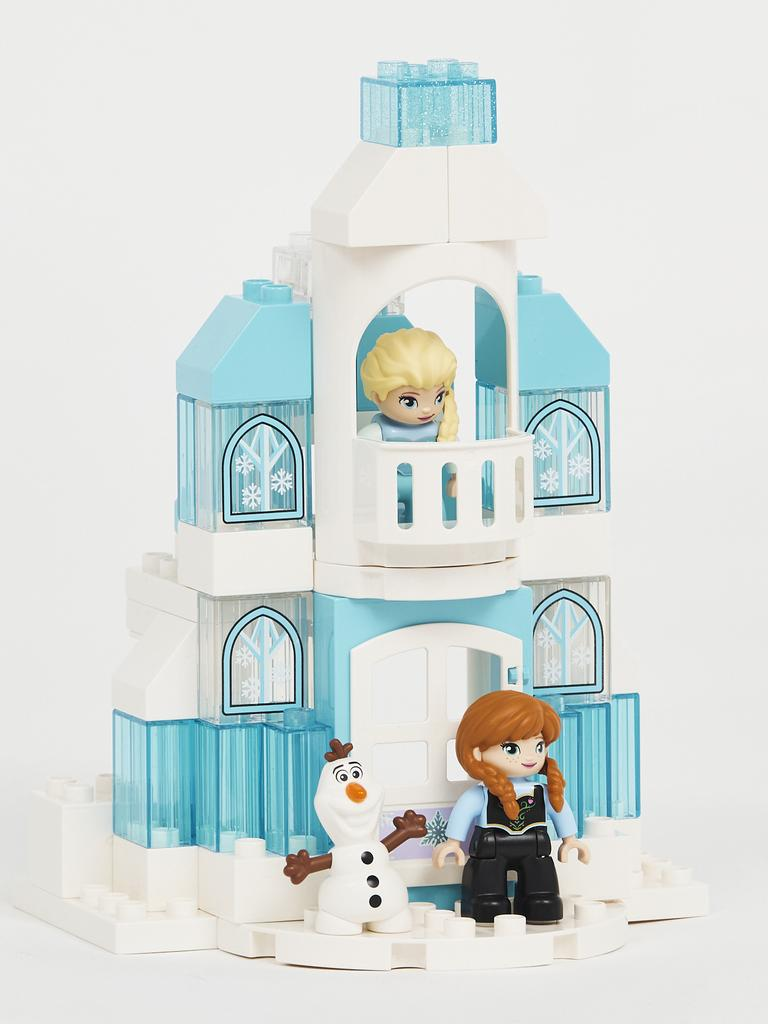 Duplo's Frozen Ice Castle.