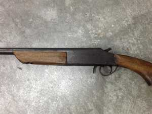 Sawn off gun pulled on 60-year-old, cars stolen