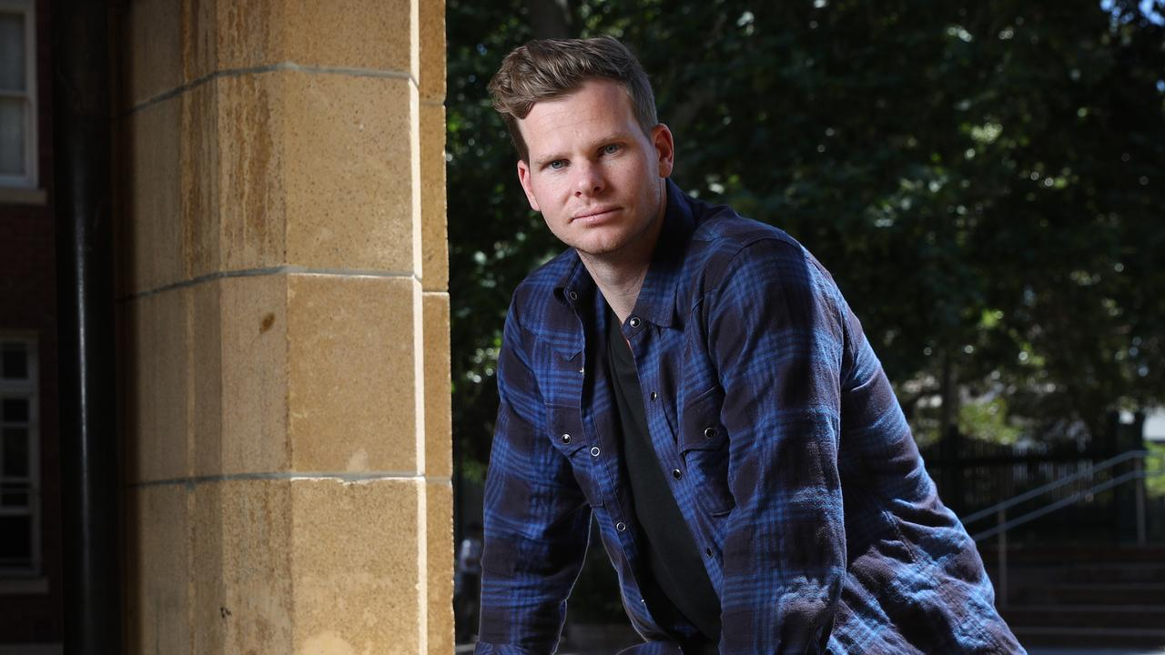 Steve Smith's words have helped saved the lives of two teenagers at a Sydney school. Picture: Richard Dobson