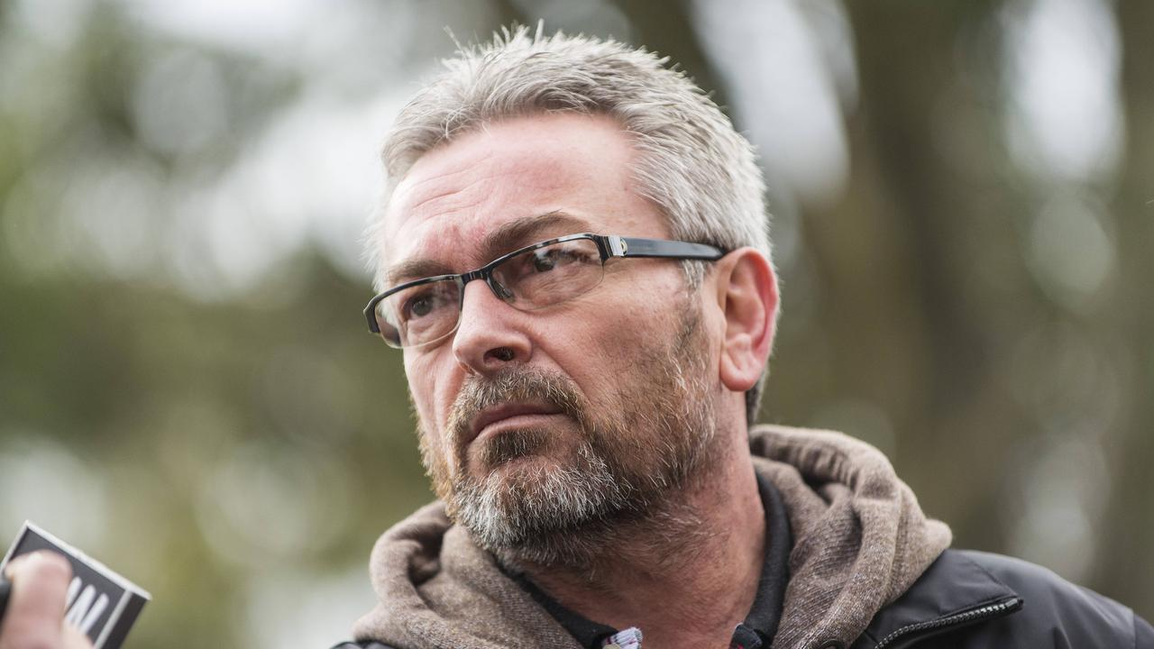 Borce Ristevski's web of lies came undone — but he has refused to reveal how his wife, Karen, died. Picture: David Crosling