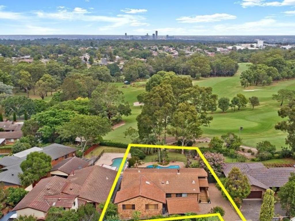 Properties overlooking golf courses are popular