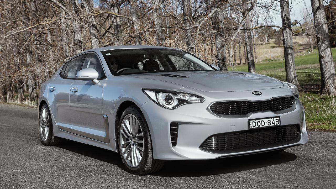The Kia Stinger 330S.