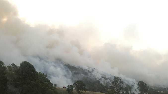 Double blow weather conditions heightens fire concern today