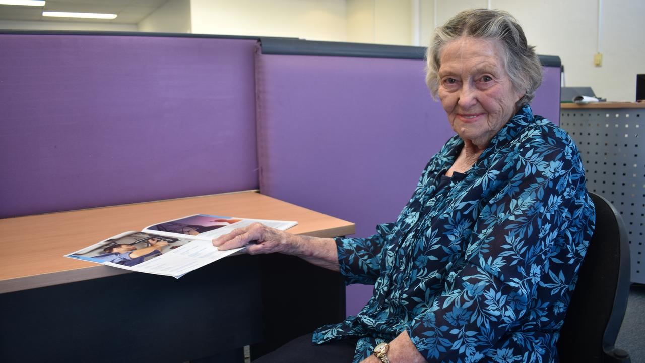 BANNED: 87-year old Mavis Bott looking back on her travelling days Picture: Saavanah Bourke