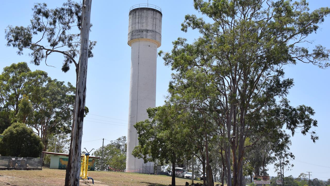 REVEALED: A fullsize art piece may soon cover the Murgon water tower. A mock up of the art piece has been revealed.