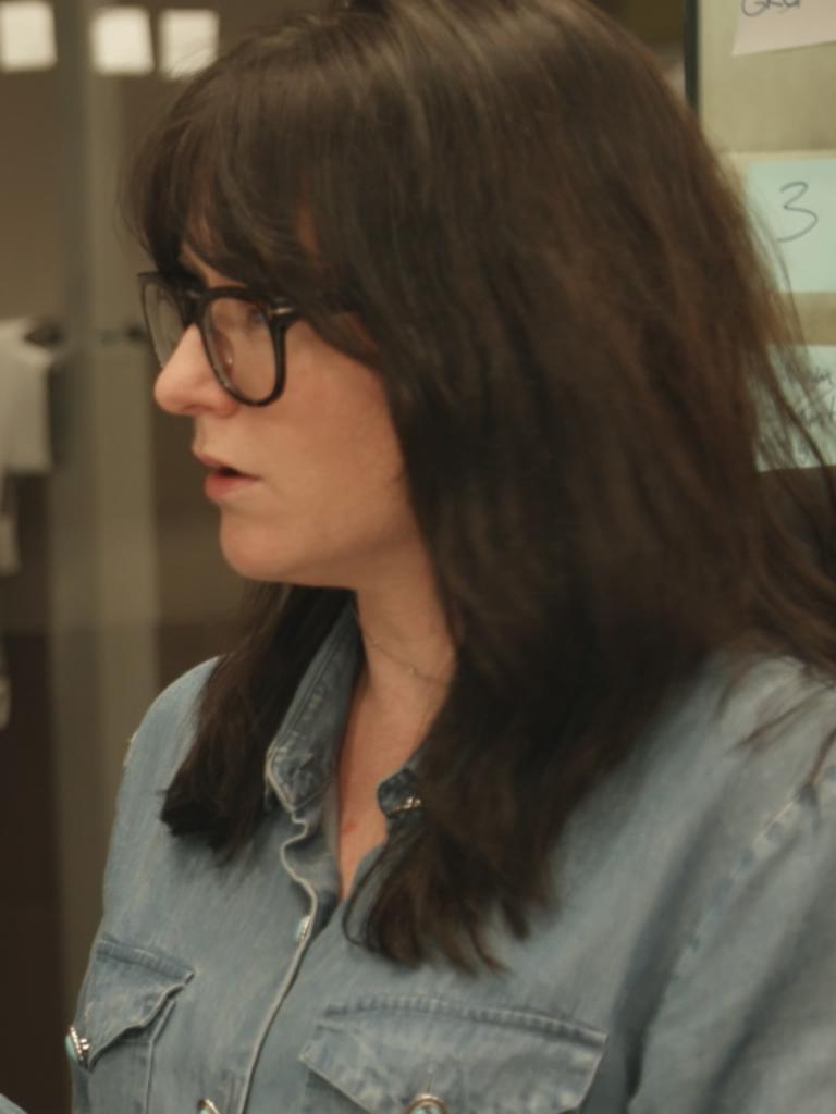 Reporter Caro Meldrum-Hanna.