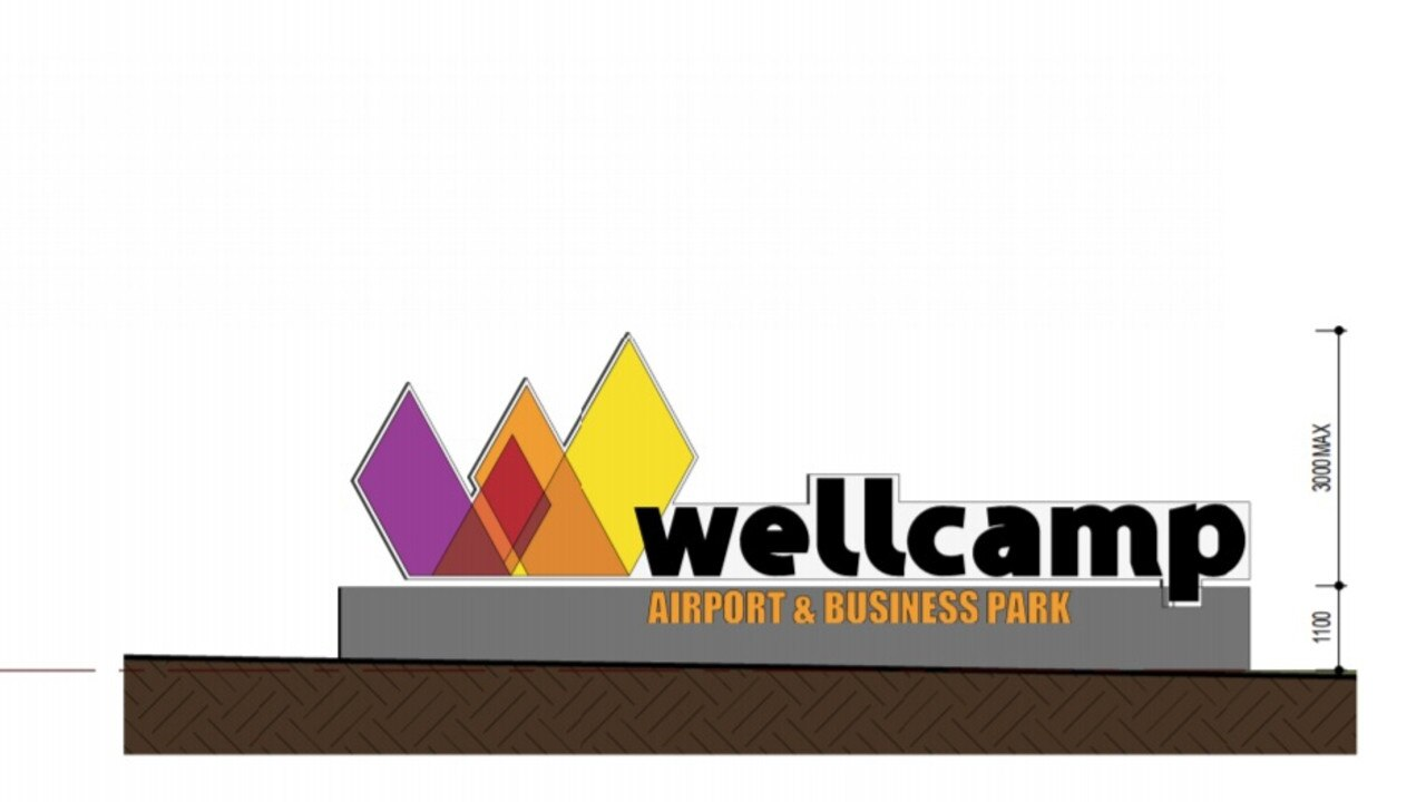 WELCOME: An artist's impression of the new Wellcamp Airport and Business Park.