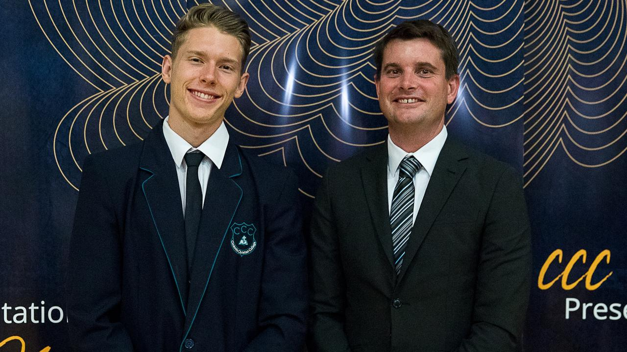 Excellence in Information Technology (sponsored by Productivity) - Hayden Palmer, presented by Mr Mark Grogan