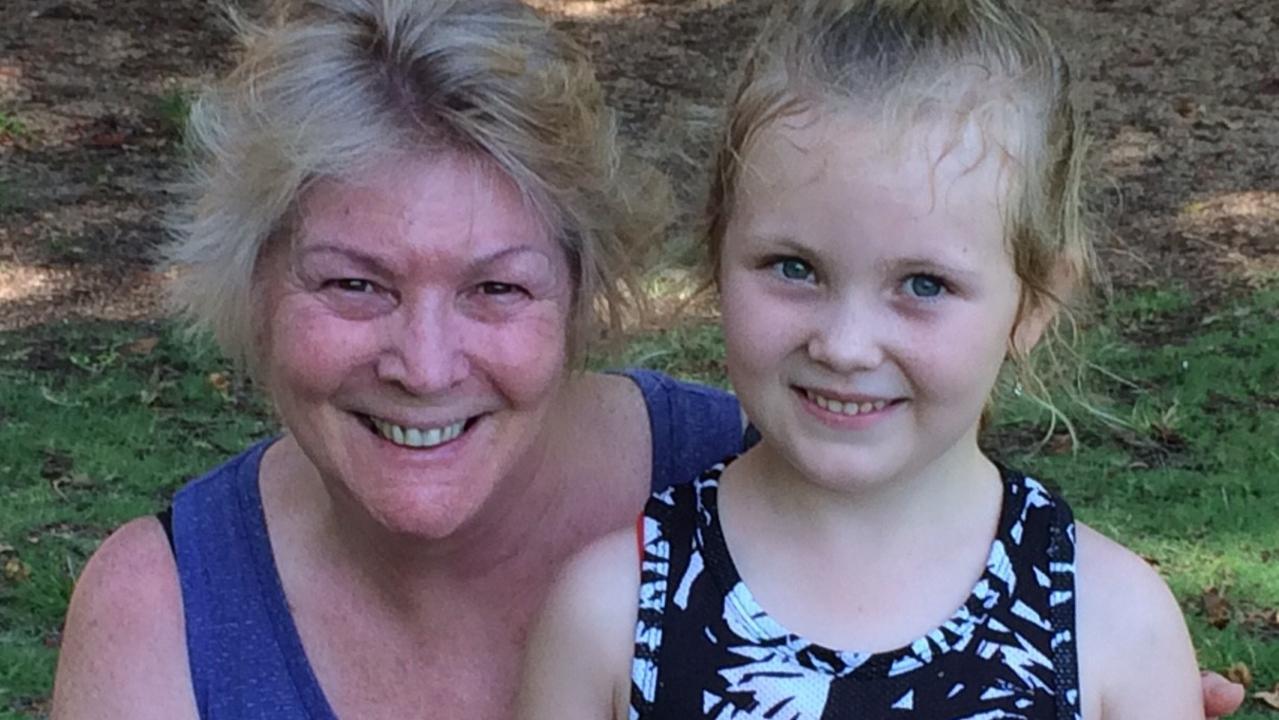 Kerree Green and Ella Bougoure at Rockhampton parkrun on Saturday morning.