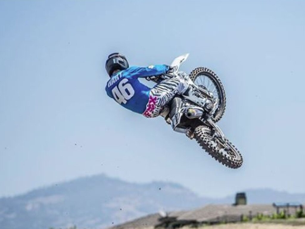 Cary Hart is a champion motocross rider and has various business interests in the US. Picture: Instagram