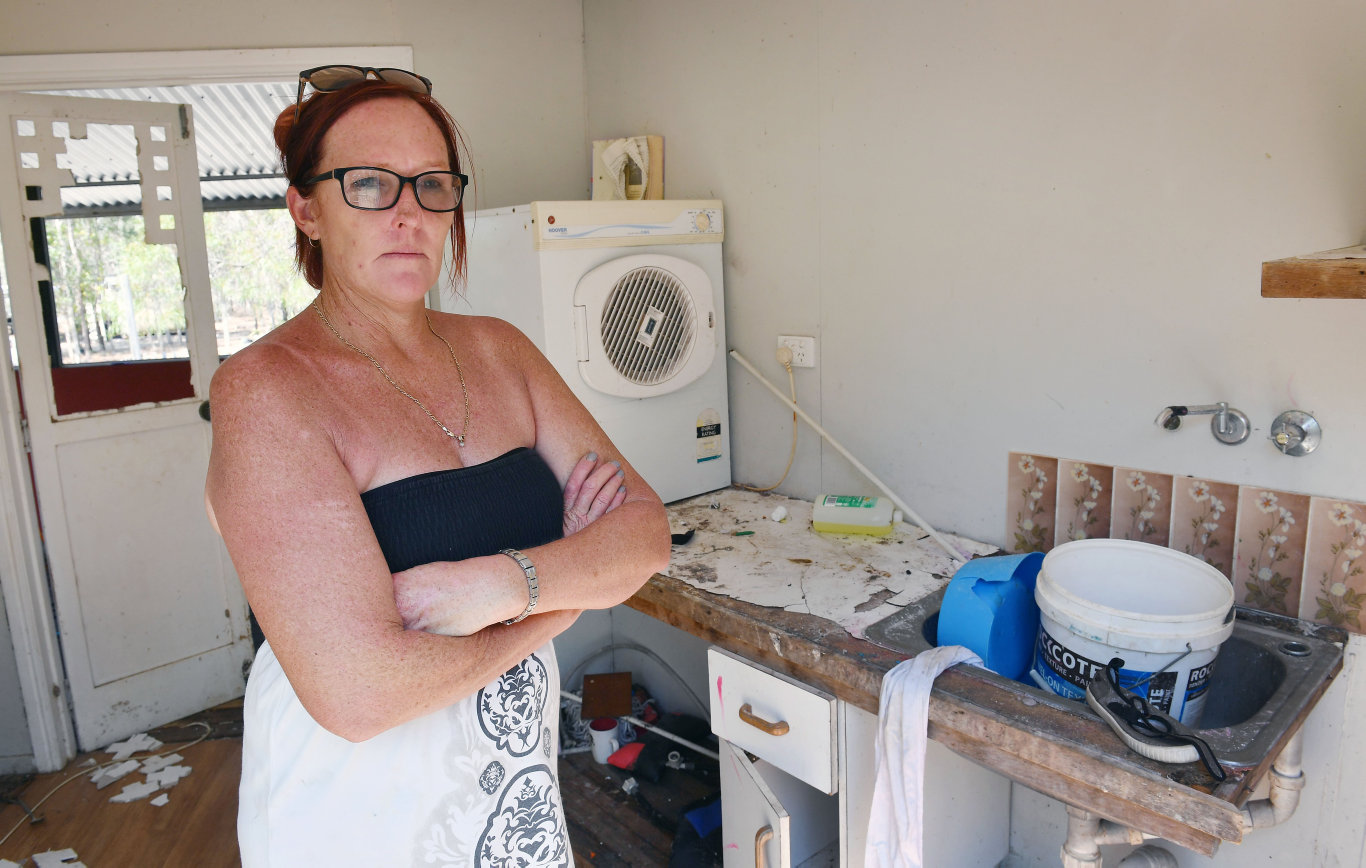 Julie Beel at her Midge Point home.