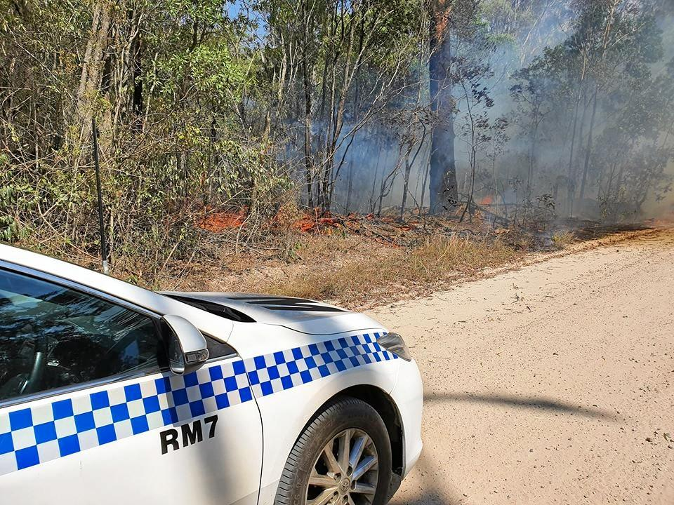 Police warn 'don't do your own backburning'