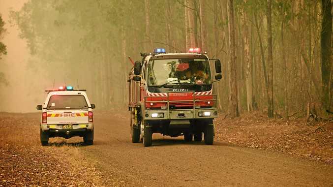 Unauthorised backburning hinders firefighting efforts