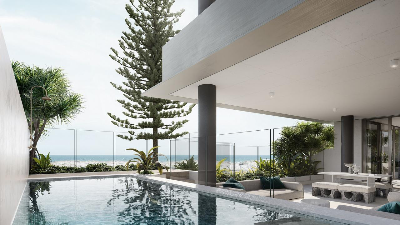 The Maya development at Coolangatta. Photo: Groupline Constructions