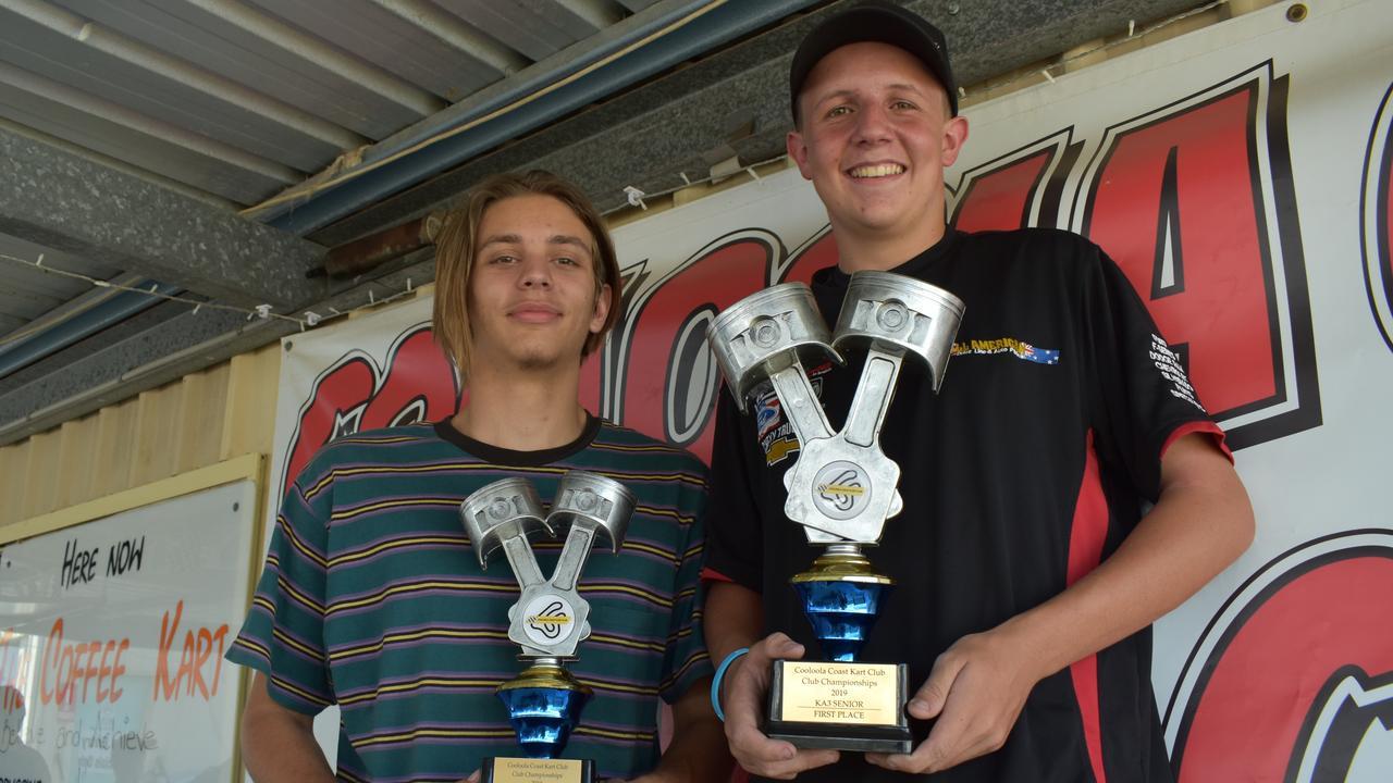 Cooloola Coast Kart Club presentation 2019 - KA3 senior champs. Photos Bec Singh