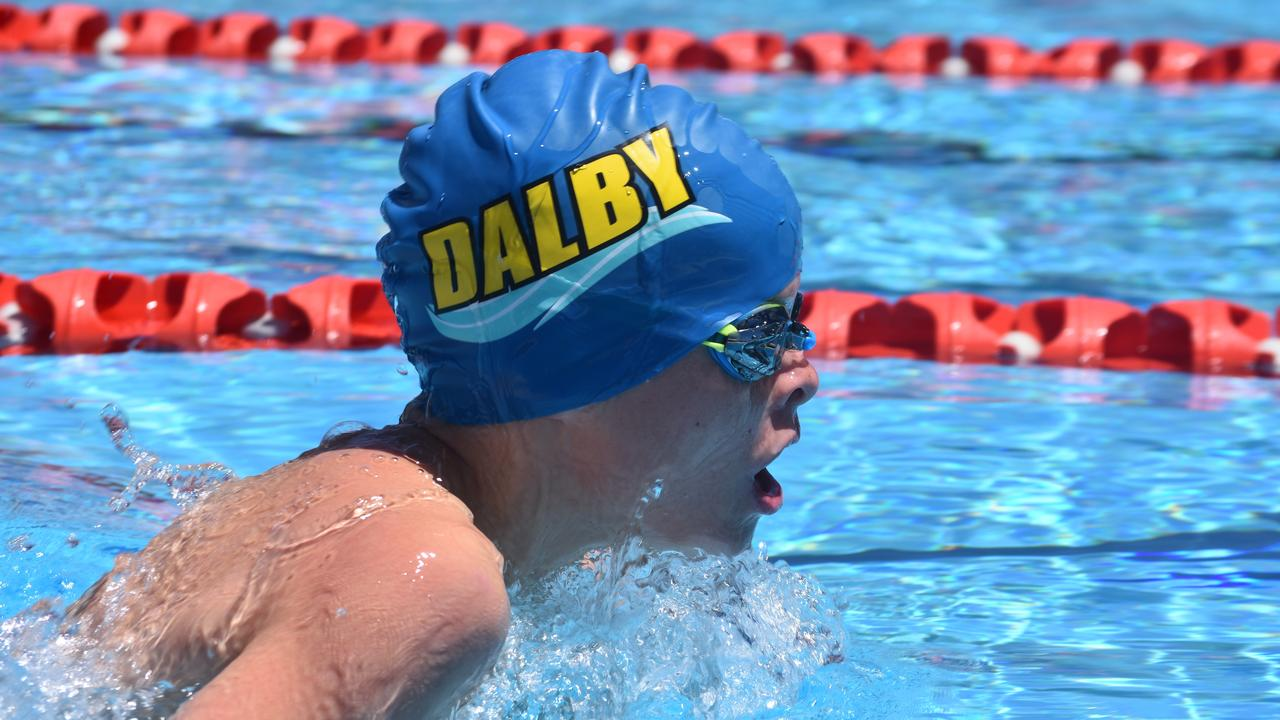 The Dalby Dolphins did their club proud at the town's first major swim meet of the year, the Dalby Open.