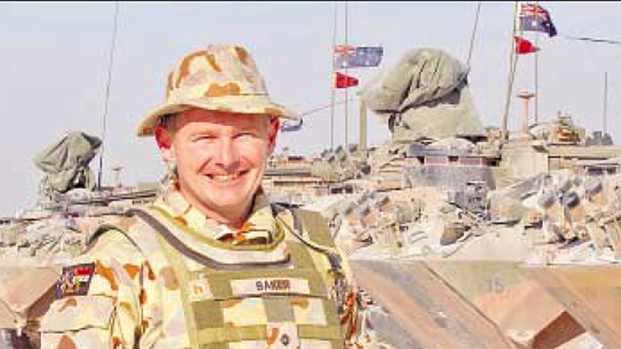 Jamie Arthur Christopher Baker during deployment in Iraq.