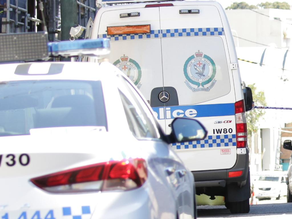 A man has been charged and a hunting knife seized after three people were stabbed in Goulburn on Friday night.