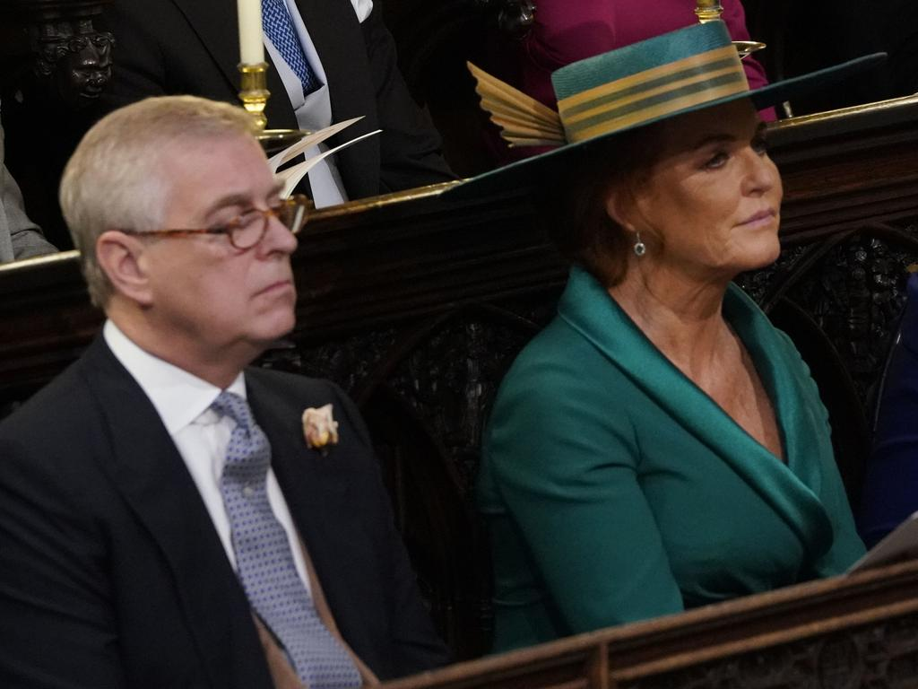 Prince Andrew and Sarah Ferguson have remained close since their split. Picture: Danny Lawson.