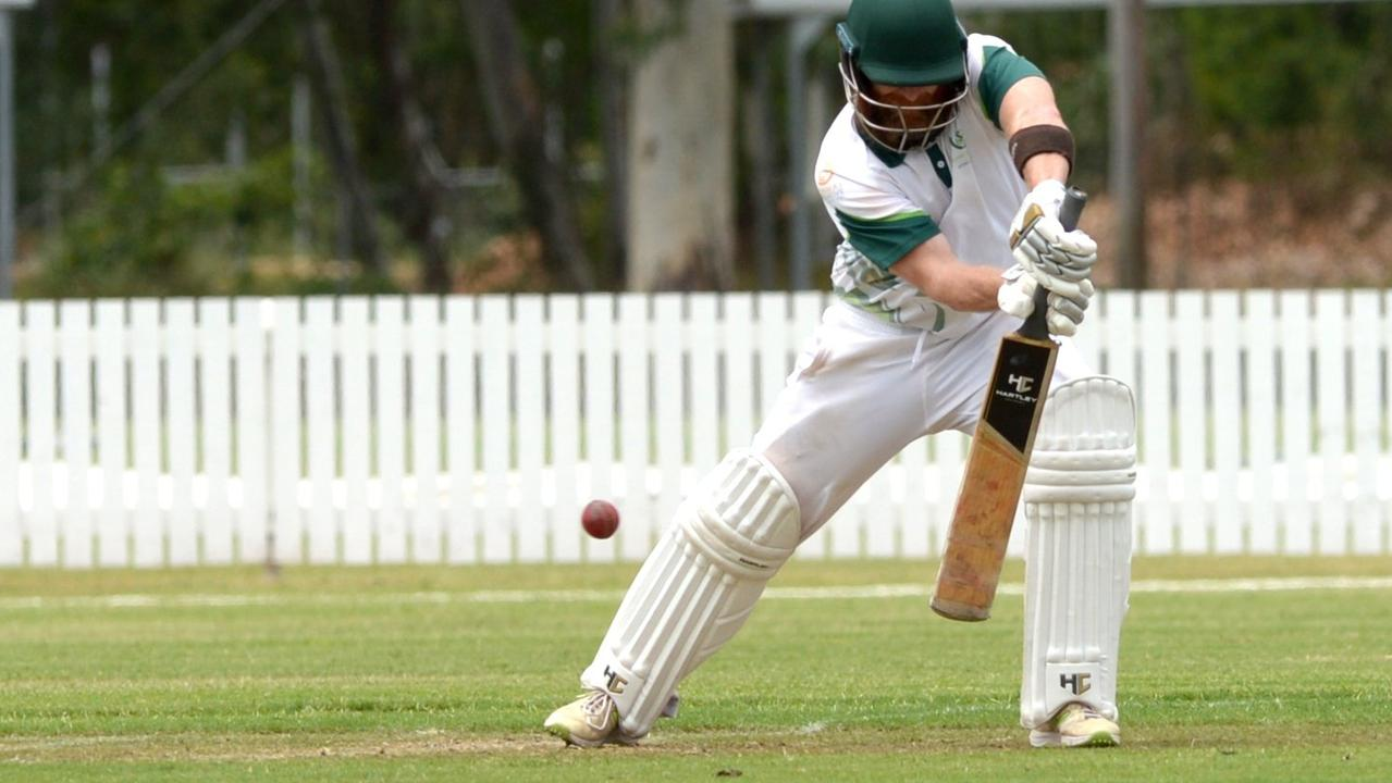 BIG HITTER: Brent Hartley will be looking to perform with the bat for Rockhampton in Sunday's rep game.