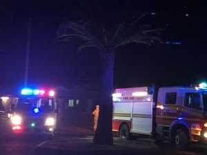 PICS: Car collides with tree in Kingaroy