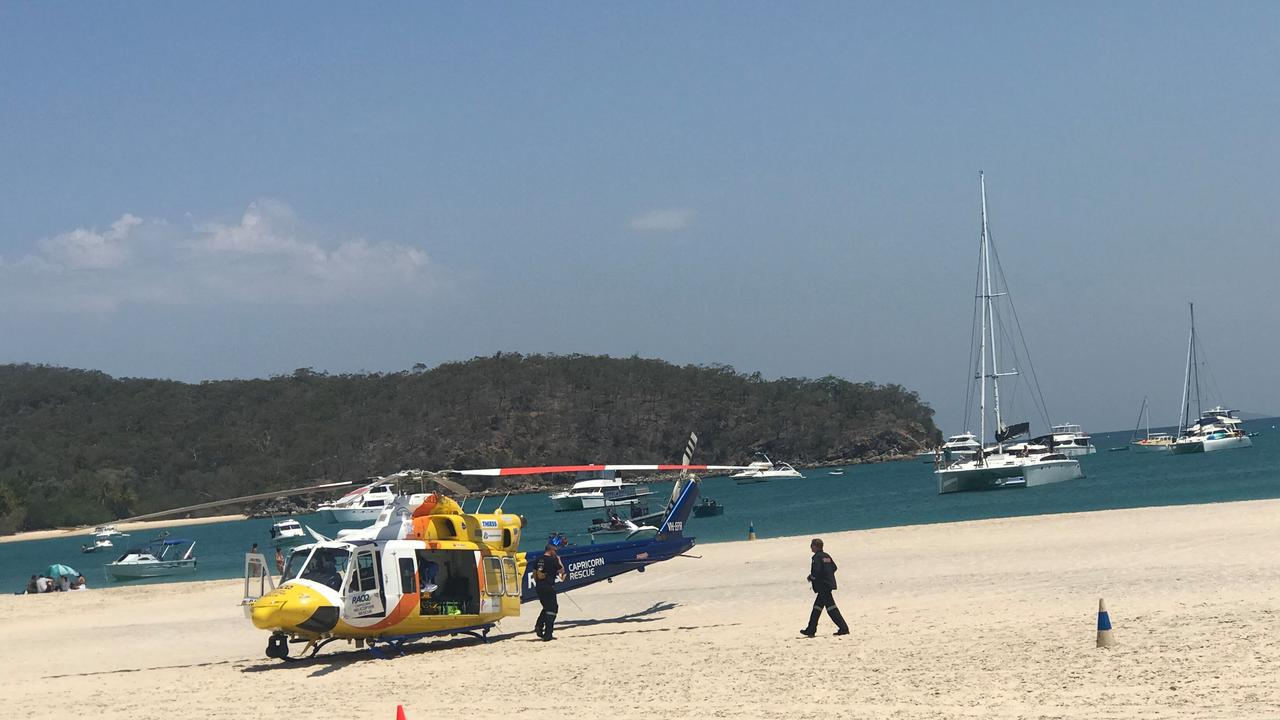 RACQ Capricorn Rescue was tasked to Great Keppel Island this afternoon