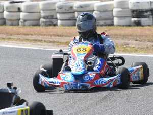 GO KARTS CQ SERIES: Brodie Christian