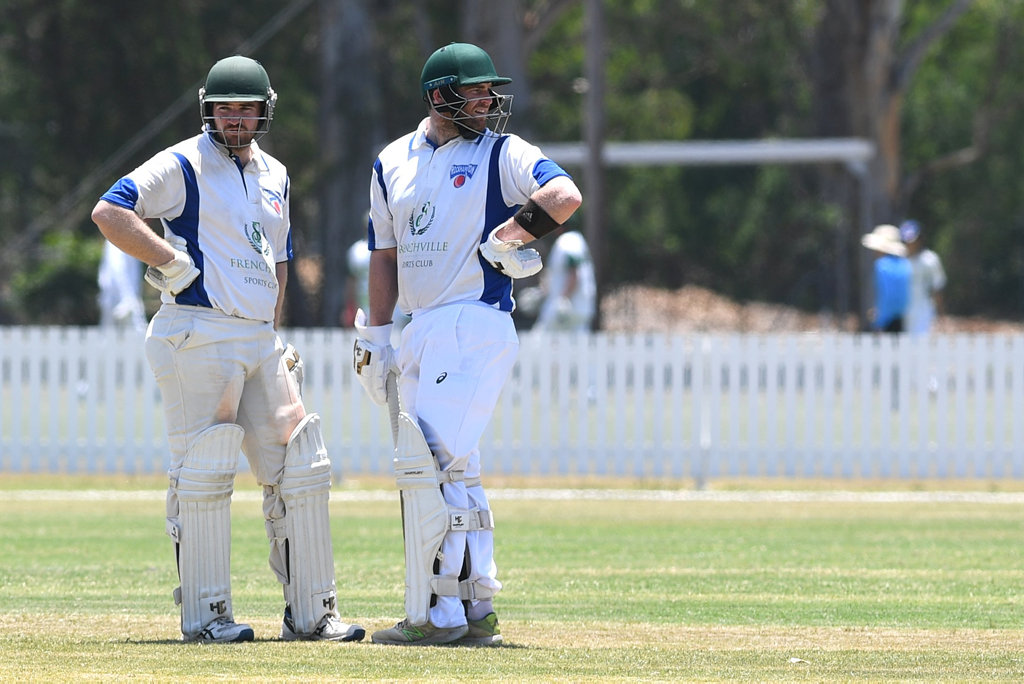 Image for sale: CRICKET CQ CHAMPIONSHIPS: Rockhampton brothers Trent and Lachlan Hartley