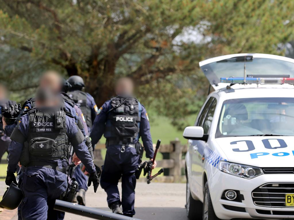 Wallace later headed the Middle Eastern Organised Crime Squad. Picture: NSW Police
