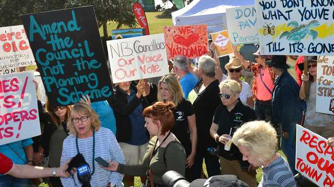 Court day arrivals in David vs Goliath fight for Yaroomba