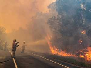 Residents 'nearly lost everything' as fireys fear the worst