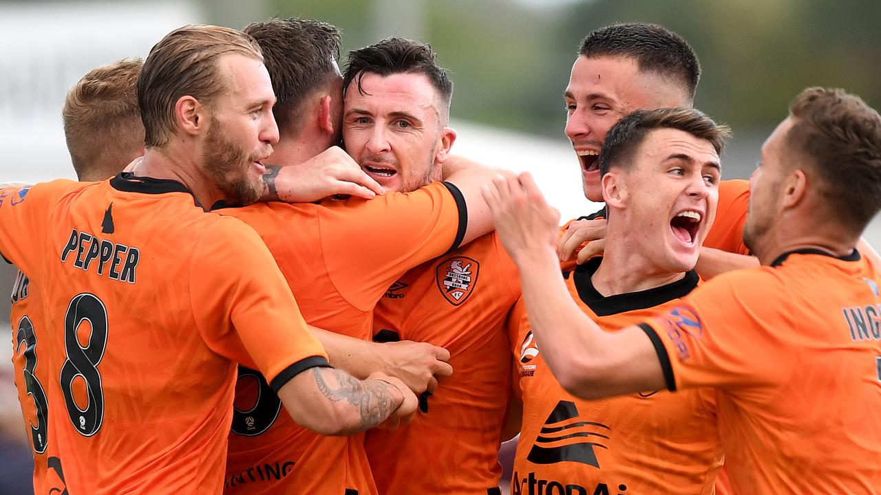 Brisbane Roar finally gave their fans something to celebrate.