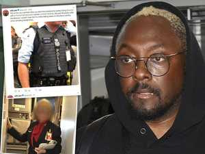 Flight was like a police state, says will.i.am