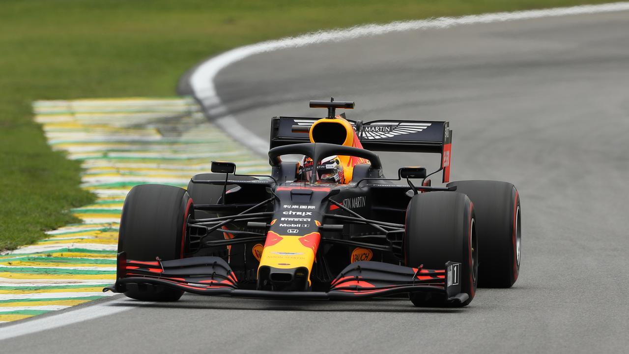 Verstappen claimed pole position in Brazil.
