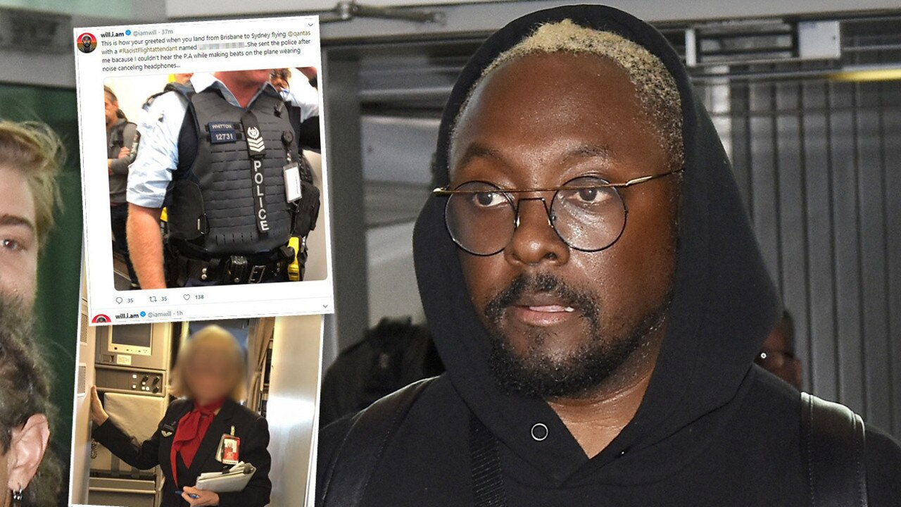 Flight was like a police state, says will.i.am - Gympie Times