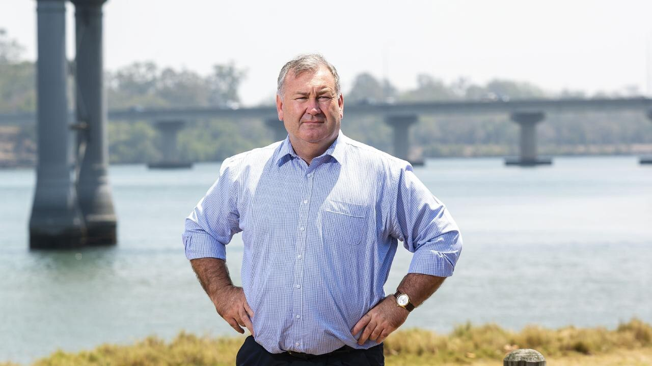 WATER SECURITY: Bundaberg Mayor Jack Dempsey says water security is the region's biggest competitive advantage.