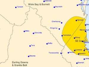 WARNING: Severe storm for parts of the Burnett