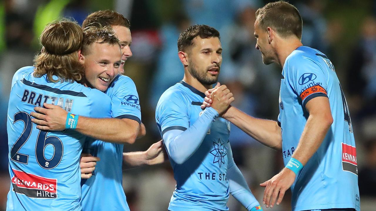 Kosta Barbarouses got Sydney home with a second-half strike.