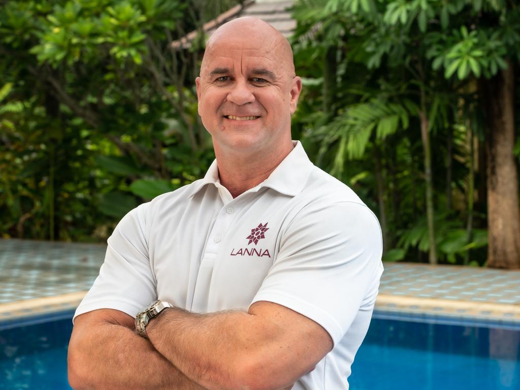 Aussie Darren Lockie is CEO of two Thai rehab centres, Lanna and Dara.