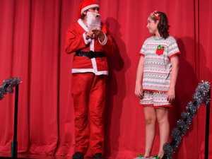 Students spread Christmas cheer