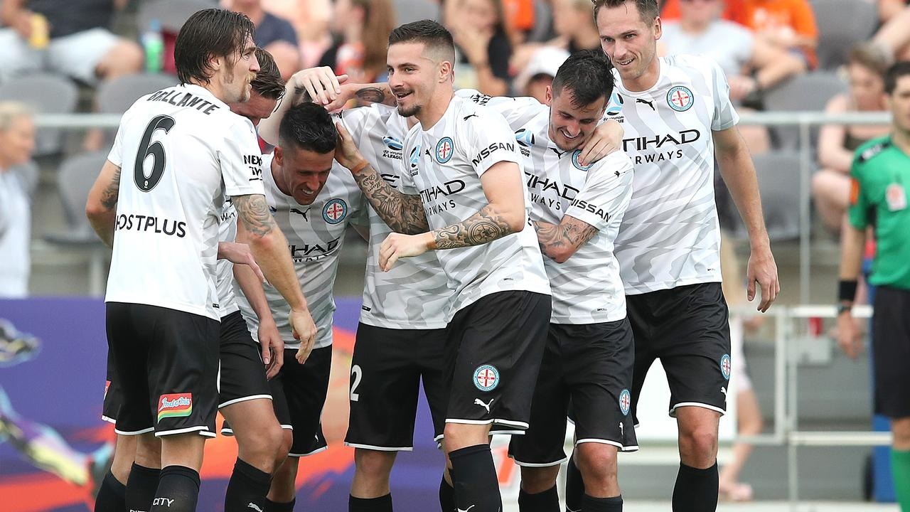 Jamie Maclaren gave City a great start but they couldn't hold on.