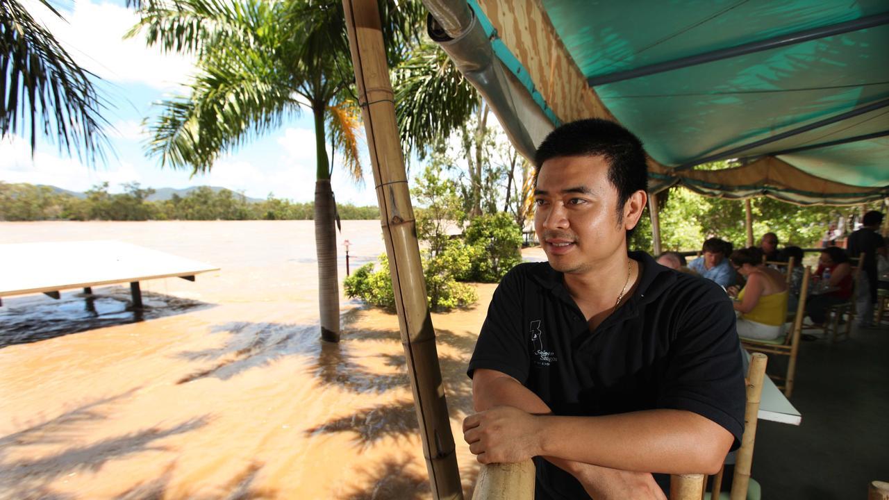 Tai Lam at the Saigon Saigon by the River restaurant in 2011.