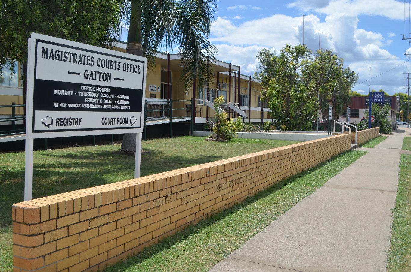 The Gatton Court House and Police Station. Photo Amy Lyne / Gatton Star