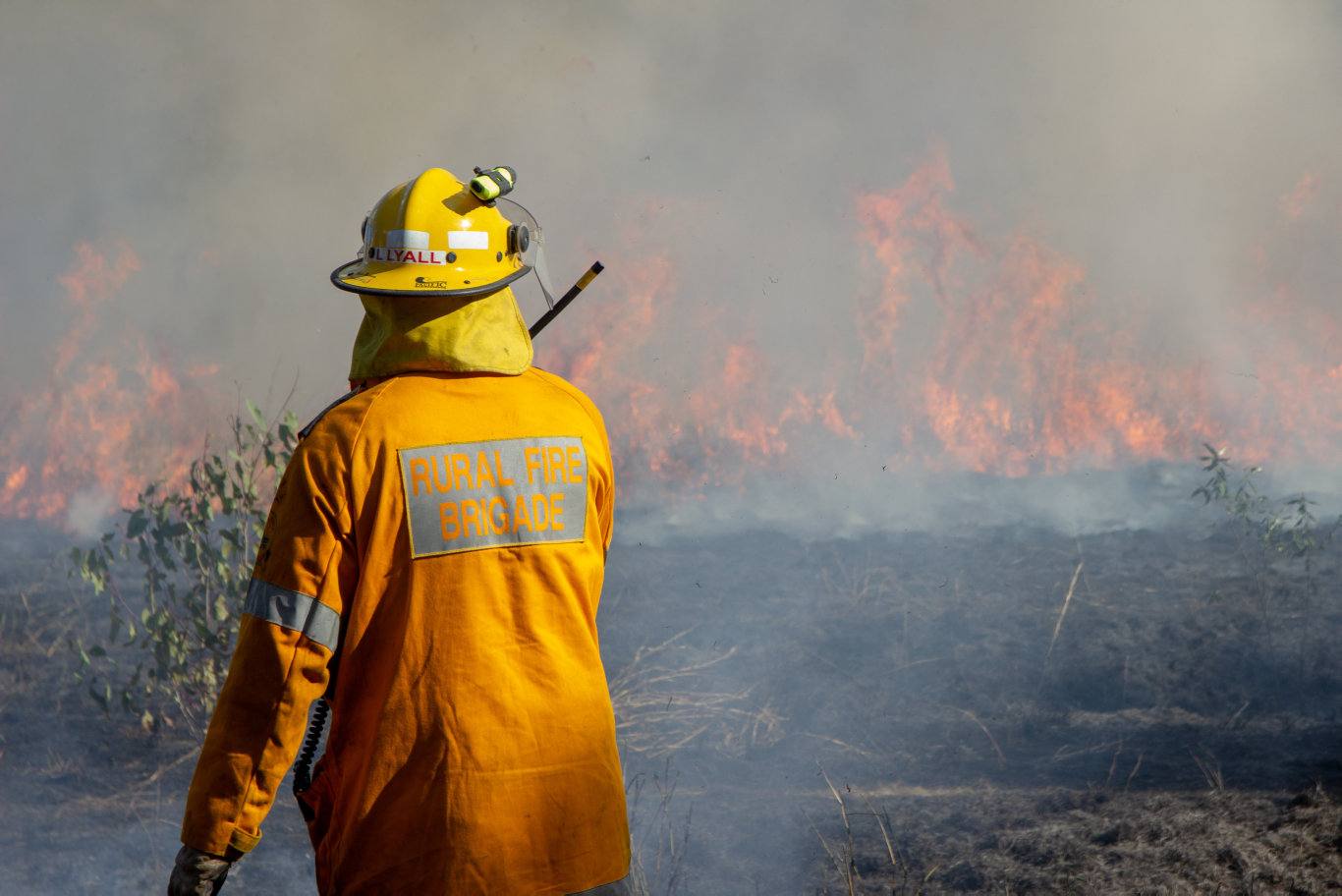 Queensland Rural Fire Service drews from the Lockyer Valley and Somerset performand hazard reduction burns as part of a training exercise on Saturday, August 3, 2019