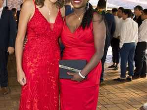 Monique Cubby (left) and Zali Hobson at Downlands